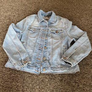 denim jacket size L